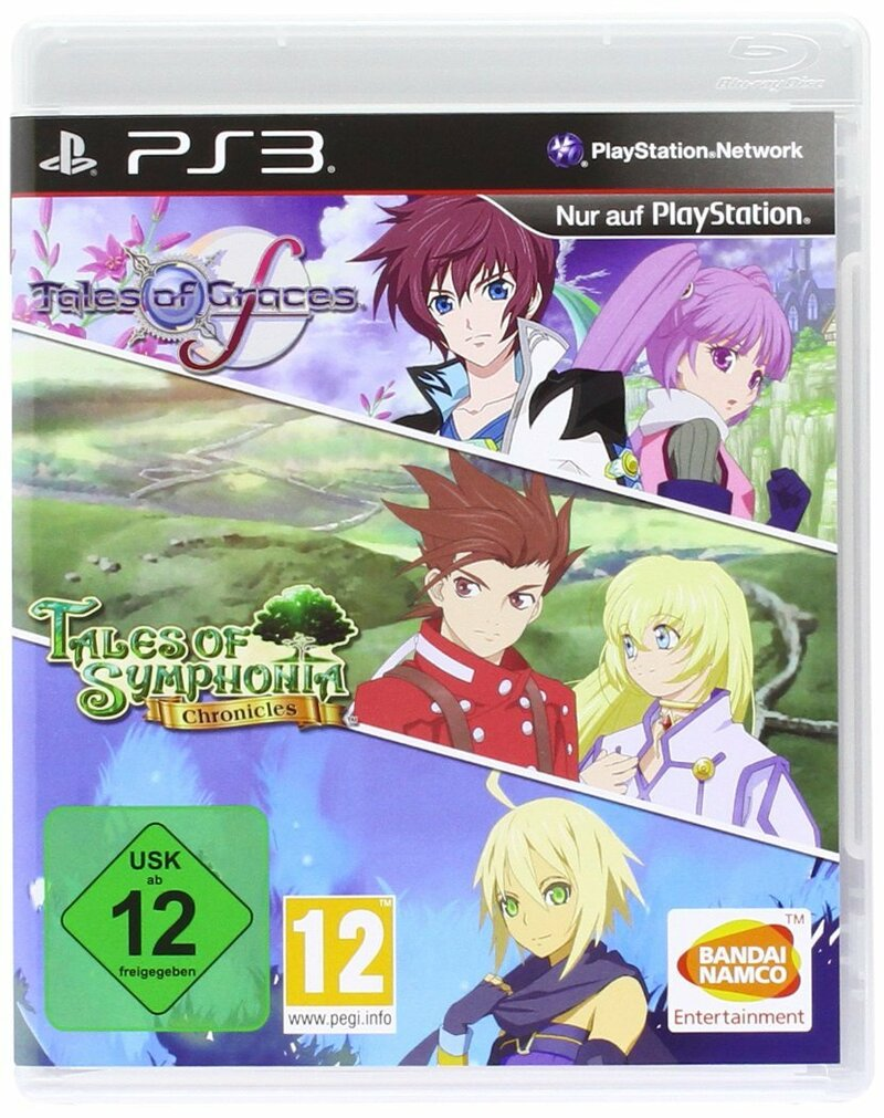 Tales of graces f tales of symphonia chronicles compilation