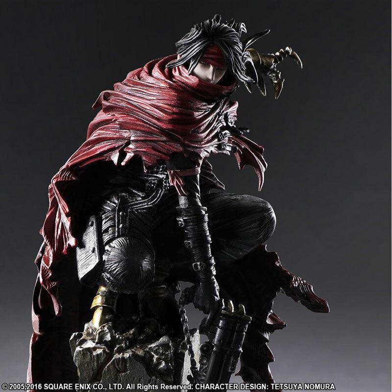 Vincent Valentine Aus Final Fantasy Vii Als Geniale Statue