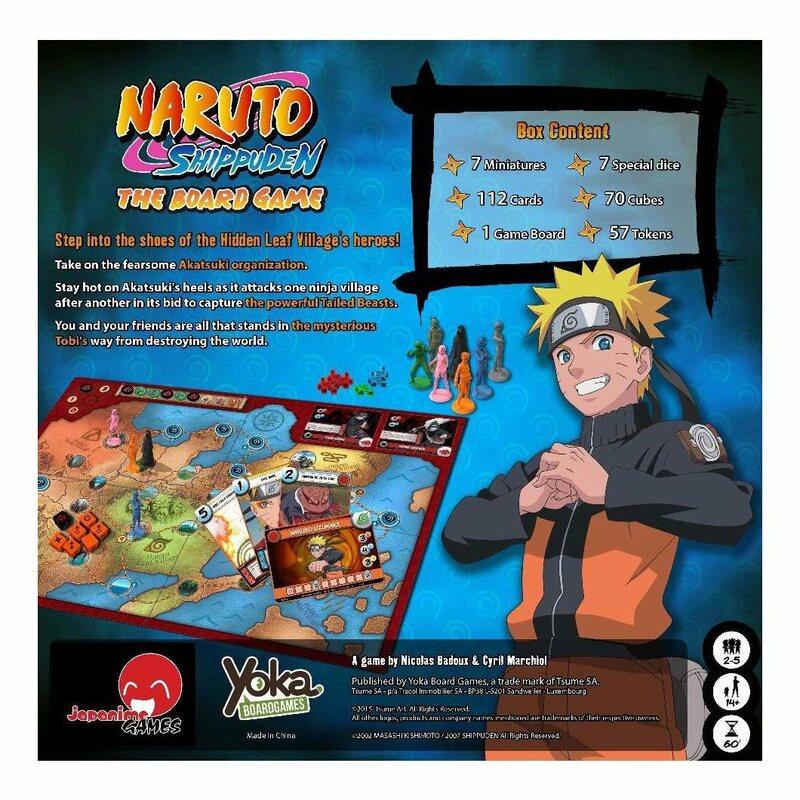 Naruto Shippuden Board Game - English Version - Yoka / Japanime Games