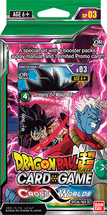 Special Pack Cross Worlds - Dragon Ball Super Card Game Season 3 (English  Version)