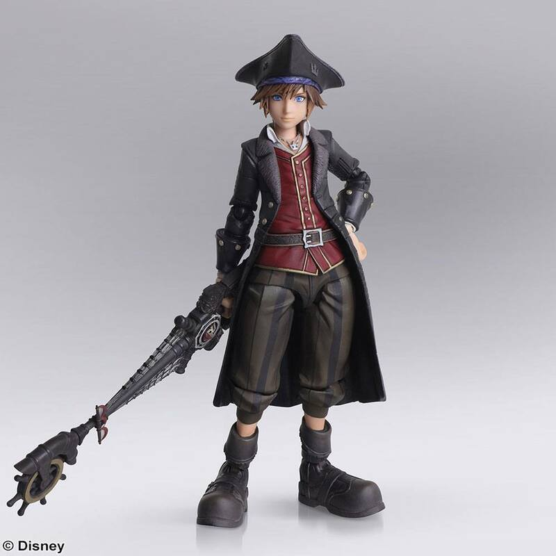 Sora - Pirates of the Caribbean - Kingdom Hearts III - Bring Arts