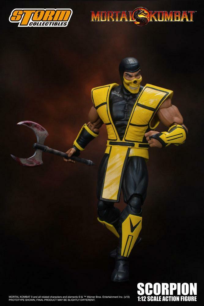 Scorpion - Mortal Kombat - Action Figure - Storm Collectibles