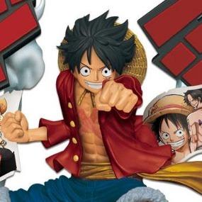 Luffy Story Age Banpresto Manga Figurine Monkey D