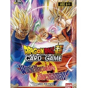 World Martial Arts Tournament Booster Packung Dragon Ball Super Card