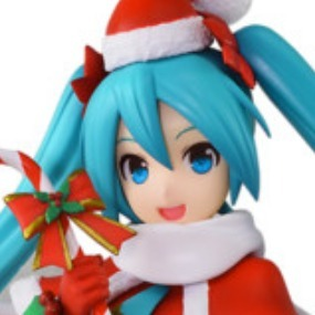 Hatsune Miku Christmas 2018.Sega Hatsune Miku Series Super Premium Figures Hatsune Miku