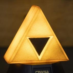 Golden Triforce Legend Of Zelda 3d Light English