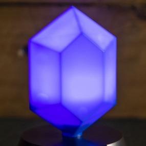 Blue Rupee Legend Of Zelda 3d Lamp English