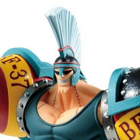 Franky Ichiban Kuji Figure Banpresto One Piece Stampede