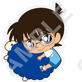 Conan Edogawa - Detective Conan - Badge - Embroidery Mascot Collection Vol   3 - Kadokawa