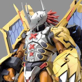 Digimon Rise Wargreymon Amplified Bandai Spirits Figure