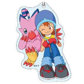 Sora Takenouchi And Biyomon Digimon Acrylic Keychains 15th