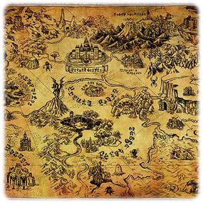 Buy Legend Of Zelda Poster Hyrule Map Online
