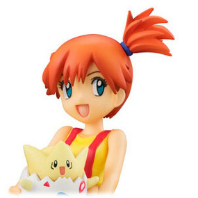 Misty with Togepi and Psyduck - Megahouse G.E.M.
