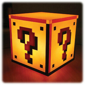 Paladone Also Has A Lamp For All Fans Of The World Of Super Mario. It Has  The Form Of The Question Block That Was Part Of The Franchise Since The  Beginning.
