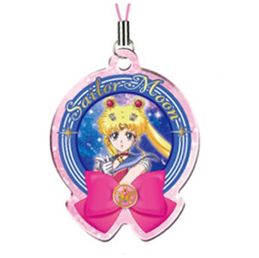 Sailor Moon Vol. 2 - Sailor Metal Charm 3 - cell phone strap