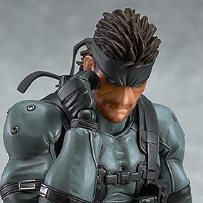 Figma 243 Solid Snake Mgs2 Ver Re Release English