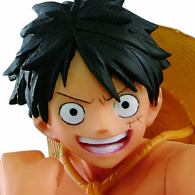 Monkey D Luffy Black Color Ver One Piece The Naked 2017 One Piece Body Calendar Vol 5