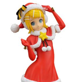 Hatsune Miku Christmas Outfit.Rin Kagamine Christmas Version Spm Figure