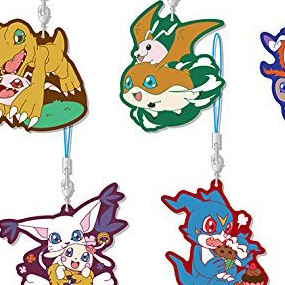 Profile digimon series rubber strap collection set of 6 pieces sol anhänger vorschau