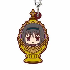 Puella Magi Madoka Magica Kyoko Soul Gem Rubber Phone Strap