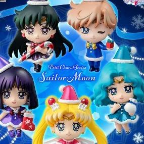 set christmas special version sailor moon petit chara 5 figures
