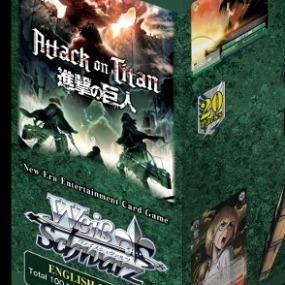 Attack On Titan Karte.Weiss Schwarz Booster Display Attack On Titan Vol 2 Enthält 20 Booster Mit Je 8 Karten Englische Version